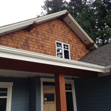 Soffit and siding